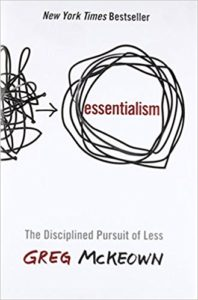Top 10 books for online entrepreneurs in 2018 Essentialism by Greg McKeown