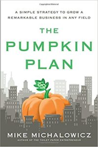 Top 10 books for online entrepreneurs in 2018 The Pumpkin Plan by Mike Michalowicz