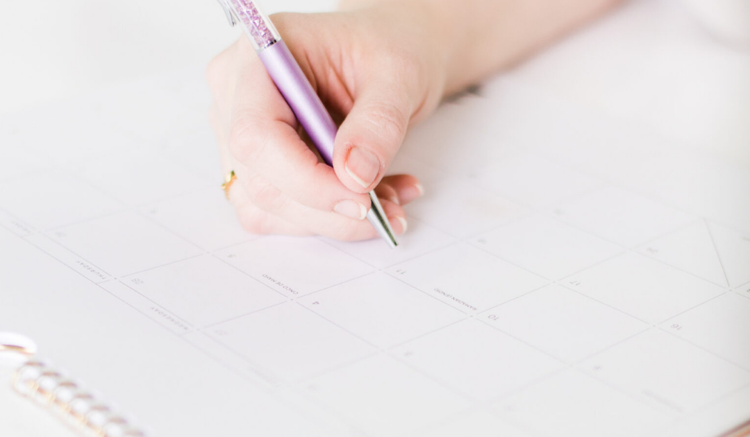 The power of setting the date to move your dreams forward